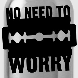 No need to worry solo T-shirts - Drinkfles