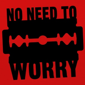 No need to worry solo T-shirts - Långärmad premium-T-shirt dam