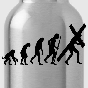 I believe (in evolution) V2 T-Shirts - Water Bottle