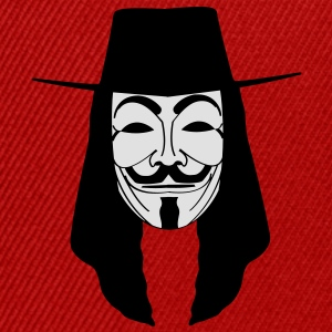 GUY FAWKES MASKE Anonymous ACTA Vendetta occupy T- - Snapback Cap