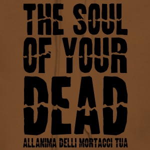 The soul of your dead T-shirt - Felpa con cappuccio premium da donna