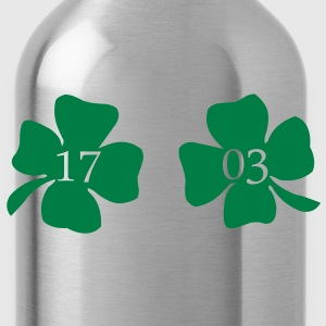 Leaf 17_03 St. Patrick's Day T-Shirts - Trinkflasche
