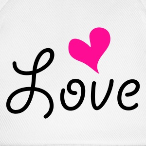 Love with heart T-shirts - Baseballcap