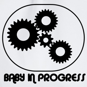 Baby i Progress / Larm barn T-shirts - Gymnastikpåse