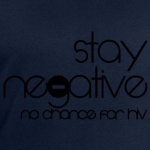 stay negative - anti hiv T-shirts - Sweatshirt herr från Stanley & Stella
