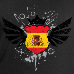 Spain soccer emblem flag T-shirt - Men's Sweatshirt by Stanley & Stella