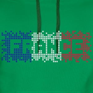 Grass green France  T-Shirts - Men's Premium Hoodie