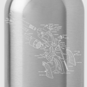 Ruger Old Army Revolver - Water Bottle