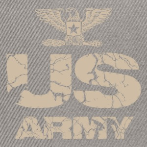us army design Tee shirts - Casquette snapback