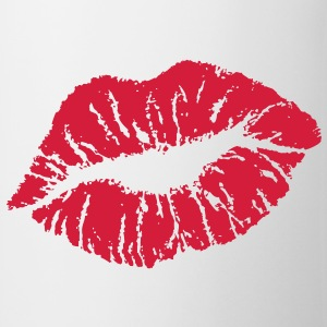 Kiss & Lips T-shirts - Mugg