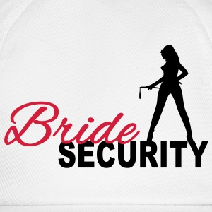 Bride Security T-Shirts - Baseballkappe