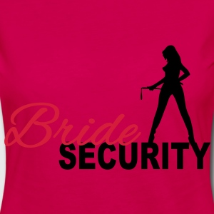 Bride Security T-shirt - Maglietta Premium a manica lunga da donna
