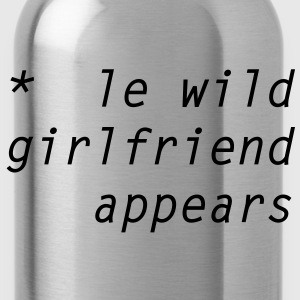 le wild girlfriend appears T-skjorter - Drikkeflaske
