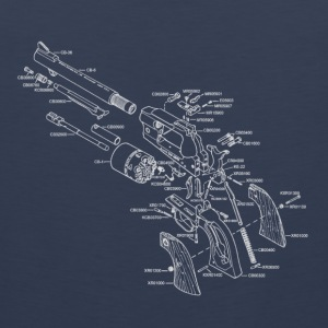 Exploded view - Revolver T-Shirts - Men's Premium Tank Top
