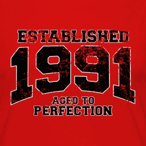 established 1991 - aged to perfection(fr) Tee shirts - T-shirt manches longues Premium Femme