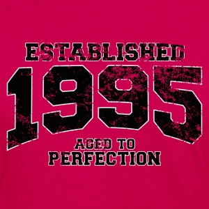 established 1995 - aged to perfection(fr) Tee shirts - T-shirt manches longues Premium Femme