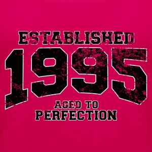 established 1995 - aged to perfection(fr) Tee shirts - Débardeur Premium Femme