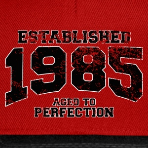 established 1985 - aged to perfection(fr) Tee shirts - Casquette snapback