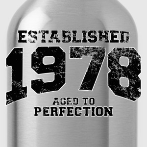established 1978 - aged to perfection(fr) Tee shirts - Gourde