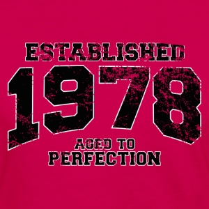 established 1978 - aged to perfection(fr) Tee shirts - T-shirt manches longues Premium Femme