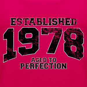 established 1978 - aged to perfection(fr) Tee shirts - Débardeur Premium Femme