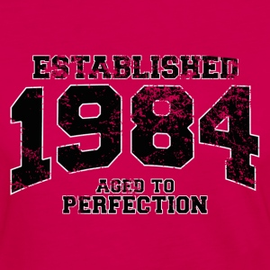 established 1984 - aged to perfection(fr) Tee shirts - T-shirt manches longues Premium Femme