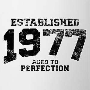established 1977 - aged to perfection(nl) T-shirts - Mok