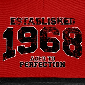 established 1968 - aged to perfection(fr) Tee shirts - Casquette snapback