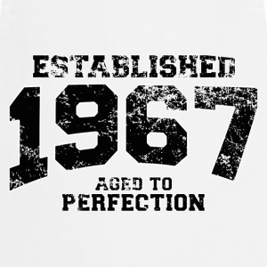 Geburtstag - established 1967 - aged to perfection - Kochschürze
