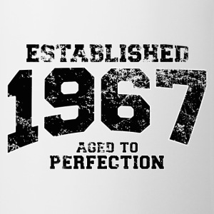 Geburtstag - established 1967 - aged to perfection - Tasse
