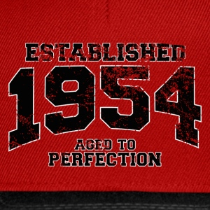 established 1954 - aged to perfection(fr) Tee shirts - Casquette snapback