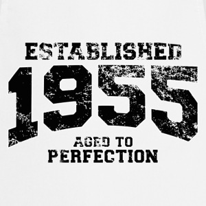 established 1955 - aged to perfection(fr) Tee shirts - Tablier de cuisine