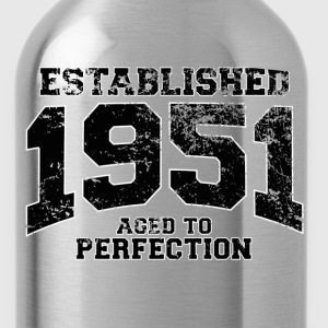 established 1951 - aged to perfection(fr) Tee shirts - Gourde