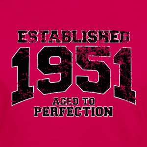 established 1951 - aged to perfection(fr) Tee shirts - T-shirt manches longues Premium Femme