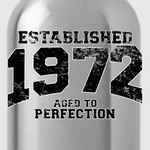 established 1972 - aged to perfection(fr) Tee shirts - Gourde