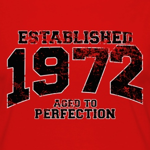established 1972 - aged to perfection(fr) Tee shirts - T-shirt manches longues Premium Femme