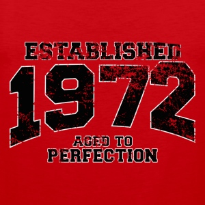 established 1972 - aged to perfection(fr) Tee shirts - Débardeur Premium Homme