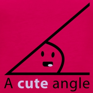 Cute angle T-Shirts - Women's Premium Tank Top
