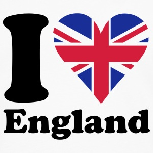 I heart England Tee shirts - T-shirt manches longues Premium Homme