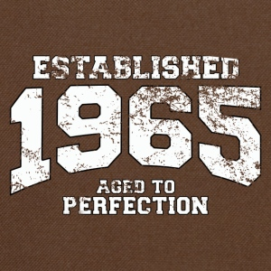 established 1965 - aged to perfection (nl) T-shirts - Schoudertas