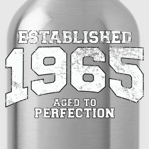 established 1965 - aged to perfection (nl) T-shirts - Drinkfles