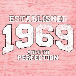 established 1969 - aged to perfection (uk) T-Shirts - Women's Tank Top by Bella