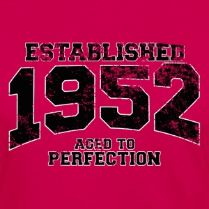 established 1952 - aged to perfection(fr) Tee shirts - T-shirt manches longues Premium Femme