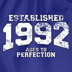 established 1992 - aged to perfection (fr) Tee shirts - Sac de sport léger