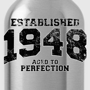 established 1948 - aged to perfection(fr) Tee shirts - Gourde