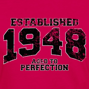 established 1948 - aged to perfection(fr) Tee shirts - T-shirt manches longues Premium Femme