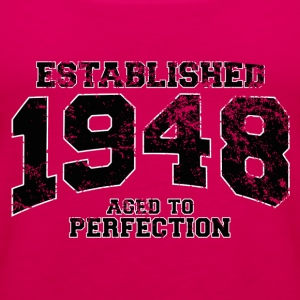 established 1948 - aged to perfection(fr) Tee shirts - Débardeur Premium Femme