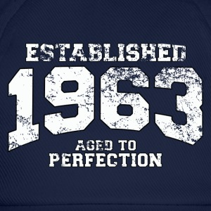 established 1963 - aged to perfection (uk) T-Shirts - Baseball Cap