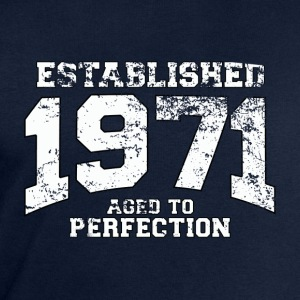 Geburtstag - established 1971 - aged to perfection - Männer Sweatshirt von Stanley & Stella
