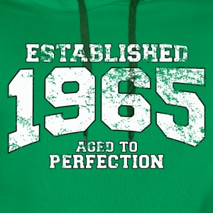 Geburtstag - established 1965 - aged to perfection - Männer Premium Hoodie